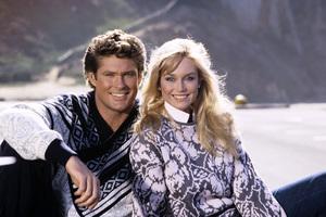 David Hasselhoff with Catherine Hicklandcirca 1988 © 1988 Gene Trindl - Image 0619_0036