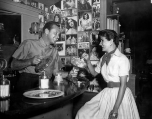 William Holden with wife Brendac. 1949 Paramount / **I.V. - Image 0623_0158