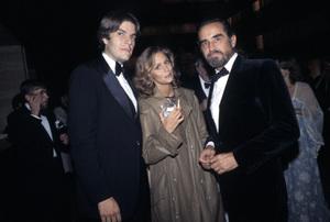 Lauren Hutton and Vittorio Gassman circa 1980 © 1980 Gunther - Image 0627_0056