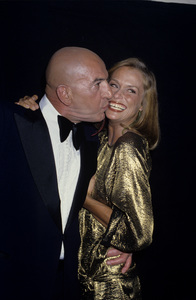 Lauren Hutton and Telly Savalas1980 © 1980 Gary Lewis - Image 0627_0067