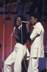 "Michael Jackson and Diana Ross on ""Diana"" (TV Special)March 2, 1981Photo by Gabi Rona - Image 0628_0005"