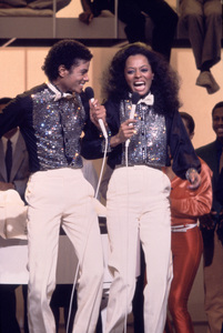 "Michael Jackson and Diana Ross on ""Diana"" (TV Special)March 2, 1981Photo by Gabi Rona - Image 0628_0015"