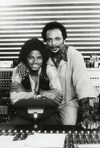 Michael Jackson and Quincy Jones in Los Angeles1979 © 2009 Bobby Holland - Image 0628_0020