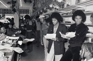 Jackie Jackson, Marlon Jackson and Michael Jackson (The Jacksons
