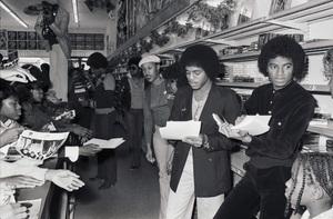 Jackie Jackson, Marlon Jackson and Michael Jackson (The Jacksons