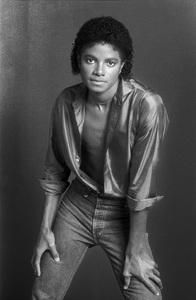 Michael Jackson 1980 © 2009 Bobby Holland - Image 0628_0067