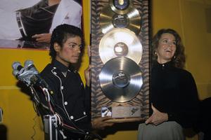 Michael Jackson and Jane Fondacirca 1983 © 1983 Jean Cummings - Image 0628_0103