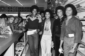 Jackie Jackson, Marlon Jackson, Michael Jackson and Randy Jackson (The Jacksons