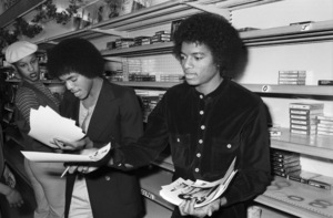 Marlon Jackson and Michael Jackson (The Jacksons