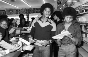 Jackie Jackson, Michael Jackson and Randy Jackson (The Jacksons