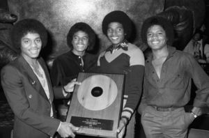 Marlon Jackson, Michael Jackson, Jackie Jackson and Randy Jackson (The Jacksons