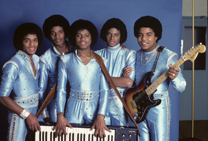 The Jackson Five (Marlon, Jermaine, Jackie, Michael, Tito)1979© 1979 Michael Jones - Image 0628_0166