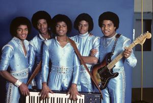 The Jackson Five (Marlon, Jermaine, Jackie, Michael, Tito)1979© 1979 Michael Jones - Image 0628_0166