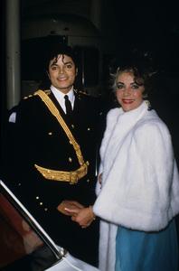 Michael Jackson and Elizabeth Taylor1986© 1986 Gary Lewis - Image 0628_0178