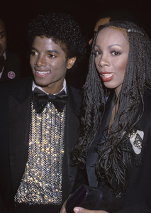 Michael Jackson and Donna Summer 1982© 1982 Gary Lewis - Image 0628_0182