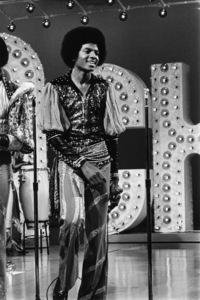 Michael Jackson during a Jackson Family television special1976© 1978 Bobby Holland - Image 0628_0196
