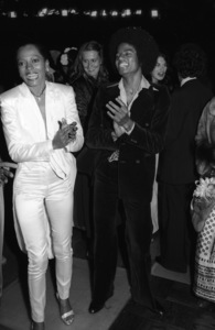 "Diana Ross and Michael Jackson at the Century City movie premiere of ""The Wiz""1978© 1978 Bobby Holland - Image 0628_0198"