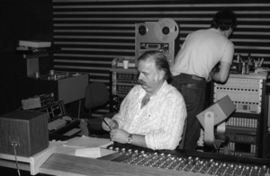 Bruce Swedien at Allen Zentz Recording Studios, right at the beginning of laying down tracks for Michael Jackson