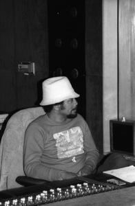 Quincy Jones at Allen Zentz Recording Studios, right at the beginning of laying down tracks for Michael Jackson