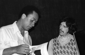 Rod Temperton at Allen Zentz Recording Studios, right at the beginning of laying down tracks for Michael Jackson