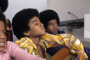 Michael Jackson and Jermaine Jackson1971 Photo by Henry Diltz ** F.R. - Image 0628_0206