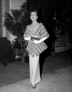 Deborah Kerr at a movie premiere circa late 1950s ** I.V. - Image 0632_0146