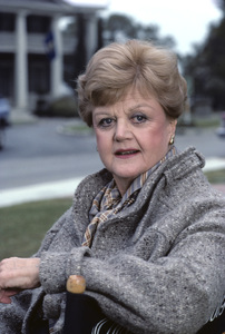 """Angela Lansbury on the set of """"Murder, She Wrote""""1985 © 1985 Gunther - Image 0633_0005"""