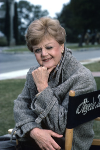 """Angela Lansbury on the set of """"Murder, She Wrote""""1985 © 1985 Gunther - Image 0633_0007"""