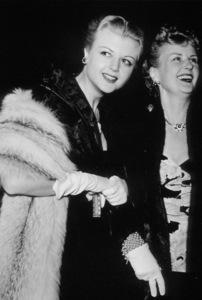 Angela Lansbury and mother Mayona MacGill, c. 1950.**I.V. - Image 0633_0025