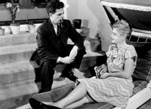 Angela Lansbury and Sydney Skolsky, c. 1943.**I.V. - Image 0633_0026
