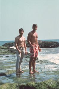 Bruce Lee and Van Williams circa 1966 © 1978 Bruce McBroom - Image 0635_0001