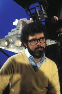 "George Lucas, Director of ""Star Wars""1977Photo by Gabi Rona - Image 0638_0010"