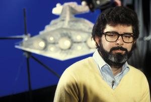 "George Lucas, Director of ""Star Wars""1977Photo by Gabi Rona - Image 0638_0100"