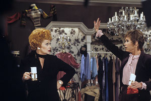 Mary Tyler Moore and Lucille Ball during a TV specialcirca 1981Photo by Gabi Rona - Image 0645_0013