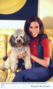 Mary Tyler Moore at home in Beverly Hills 1970 © 1978 Bob Willoughby - Image 0645_0122