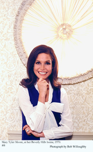 Mary Tyler Moore at home in Beverly Hills 1970 © 1978 Bob Willoughby - Image 0645_0128