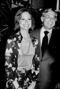 Mary Tyler Moore with husband Grant Rinkerat a CBS Affiliate Party, 1974 © 1978 Kim Maydole Lynch - Image 0645_0129