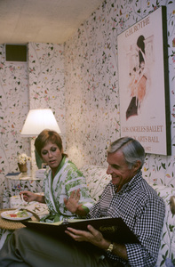 Mary Tyler Moore and Grant Tinker1978© 1978 Gene Trindl - Image 0645_0131