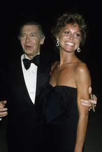 """Mary Tyler Moore and Milton Berle at """"The 31st Annual Primetime Emmy Awards""""1979© 1979 Gary Lewis - Image 0645_0139"""