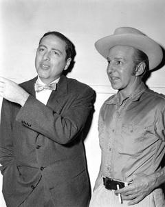 Lloyd Nolan and Herman Wouk1956Photo by Pat Clark - Image 0647_0001