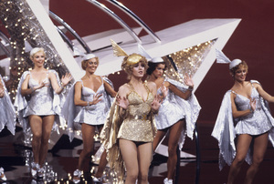 "Bernadette Peters performing a number from ""Pennies from Heaven""1981 Photo by Gabi Rona - Image 0649_0001"