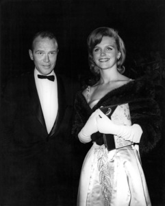 Lee Remick and husband Bill Colleran at the Academy Awardscirca 1966Photo by Joe Shere - Image 0651_0033