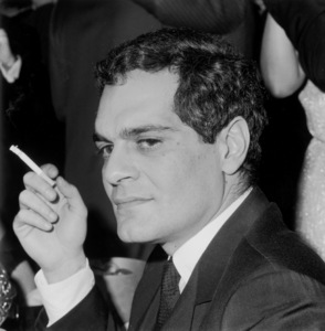 Omar Sharif1966 © 1978 Kim Maydole Lynch - Image 0655_0114