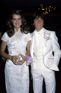 Brooke Shields and Scott Baiocirca 1978 © 1978 Gary Lewis - Image 0656_0210