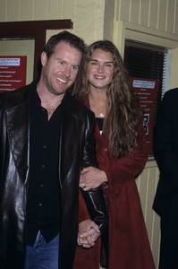 Brooke Shields and Chris Henchy2002 © 2002 Gary Lewis - Image 0656_0215