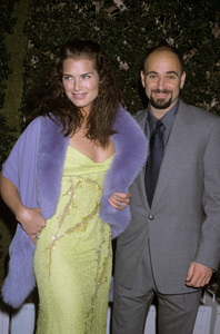Brooke Shields and Andre Agassicirca 1990s © 1990 Gary Lewis - Image 0656_0217