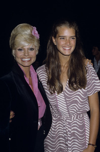 Brooke Shields and Loni Andersoncirca 1980s © 1980 Gary Lewis - Image 0656_0226