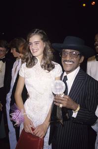Brooke Shields and Sammy Davis Jr.circa 1980s© 1980 Gary Lewis - Image 0656_0237