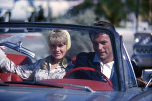 "Connie Stevens and Robert Conradin ""Palm Springs Weekend""1963 Warner © 1978 Bernie Abramson - Image 0658_0043"