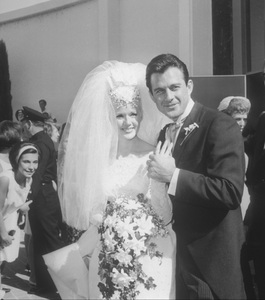 Connie Stevensand James Stacy at their wedding1963Photo by Joe Shere - Image 0658_0102